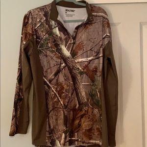 Men's Camo hunting shirt
